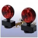 Ensemble de lumières a bases magnétique pour remorquage