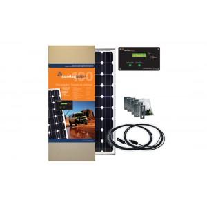 Ensemble de chargeur solaire 100 w