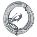 Câble d'acier pour treuil / 25 pieds