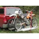 Porte-motos double en aluminium