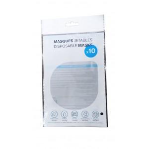 Masque jetable certifié CE - FDA certifié (10)